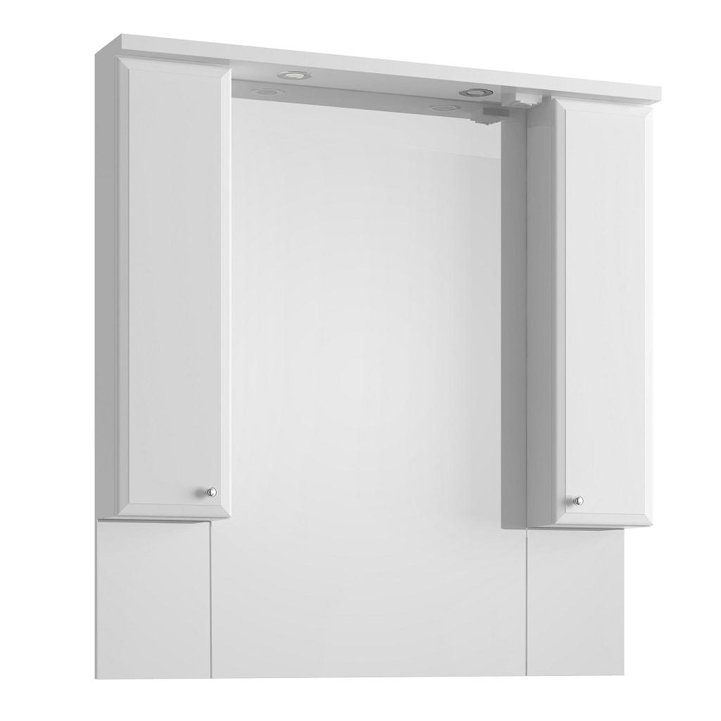 Lustro z oświetleniem Defra Armando 100cm białe 001-L-10001