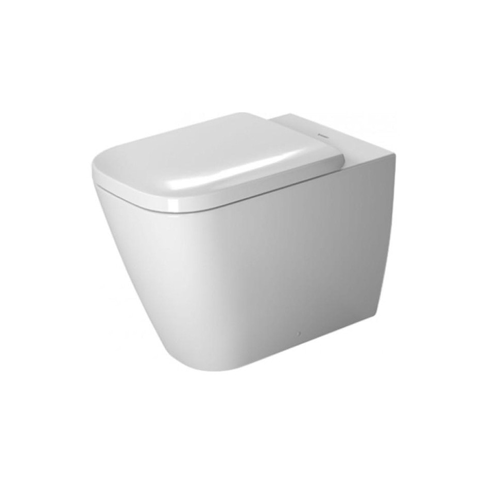 Miska WC Duravit Happy D.2 Rimless wisząca 54x35,5 biała bezrantowa 2222090000 + 0064590000