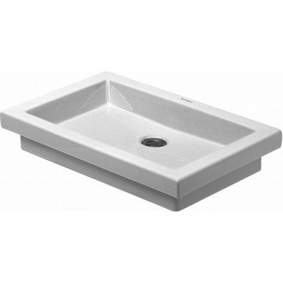 Umywalka wpuszczana w blatprostokątna Duravit 2nd floor 58x41cm 0317580029