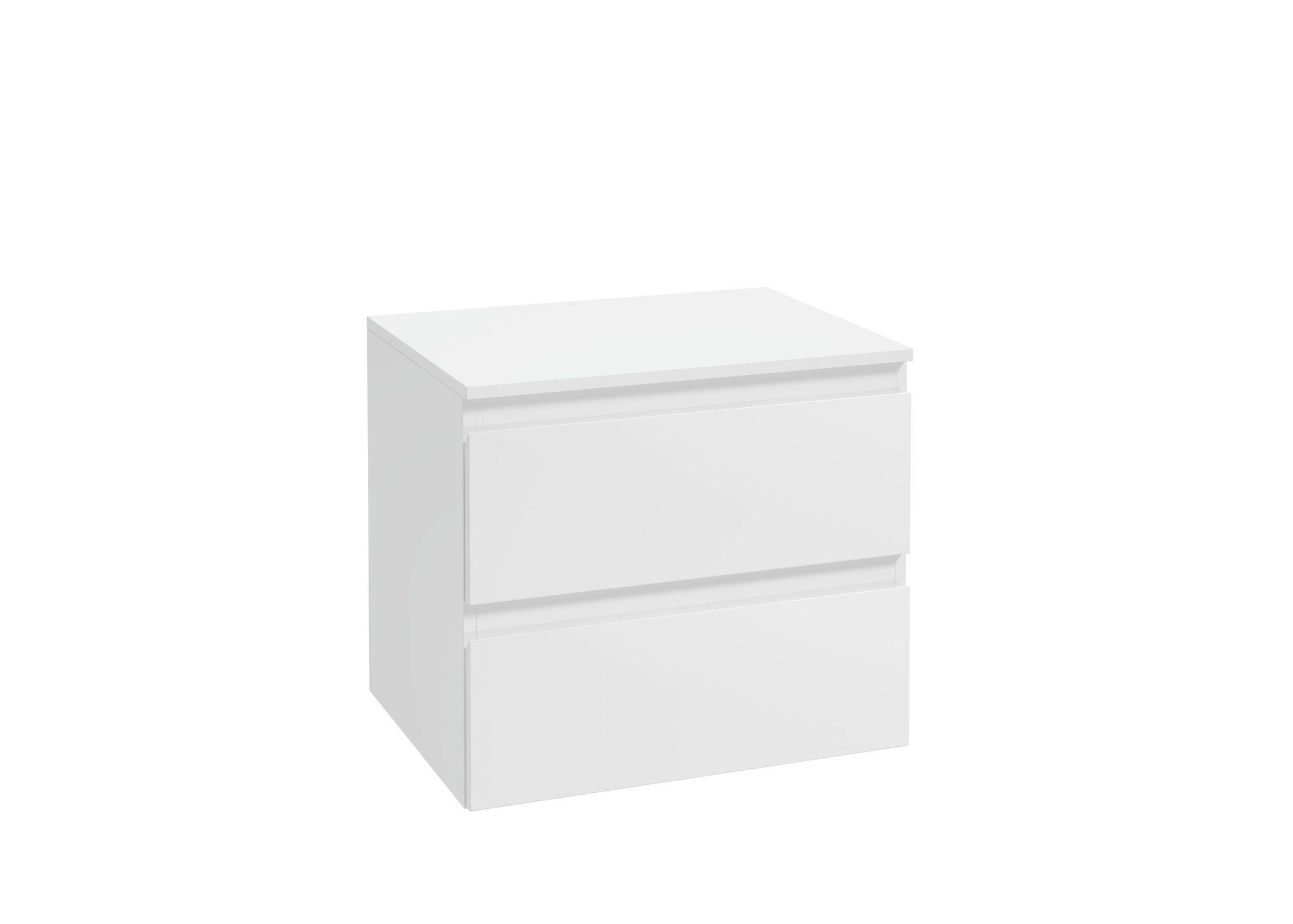 Słupek niski Defra Como B60 biały połysk 59,2x51,6x45,6cm 123-B-06005