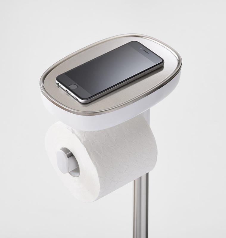 Zdjęcie Stojak na papier i szczotkę toaletową Joseph Joseph EasyStore 70519