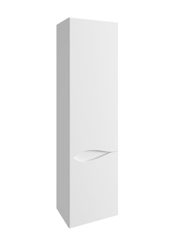 Słupek wysoki Defra Murcia C40 biały połysk łezka prawy  41x150x29,6cm 144-C-04001
