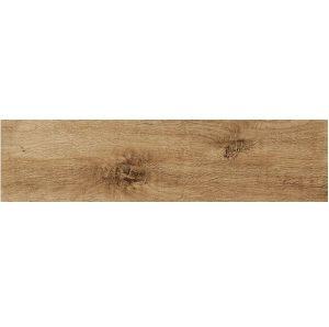 Płytka podłogowa deskopodobna Ceramica Limone Bosque Beż Ciemny 15,5x62 cm