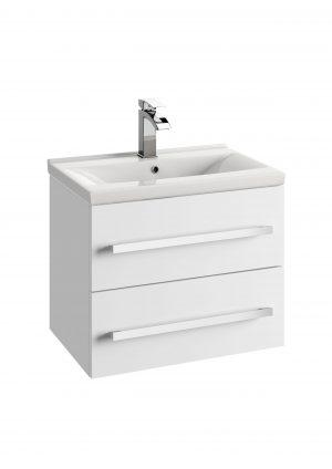 Szafka podumywalkowa Defra Granada D60 biały połysk 59,9x47,5x39,8cm 167-D-06001