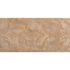 Dekoracja ścienna Tubądzin Lavish brown 22,3x44,8