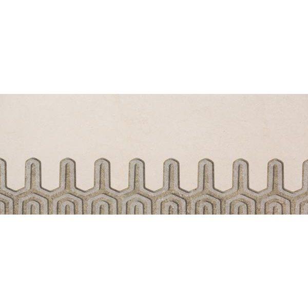 Zdjęcie Dekoracja ścienna Tubądzin Lemon Stone Grey C 29,8×74,8cm