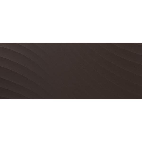 Płytka ścienna Tubądzin Elementary Brown Wave STR 29,8x74,8cm