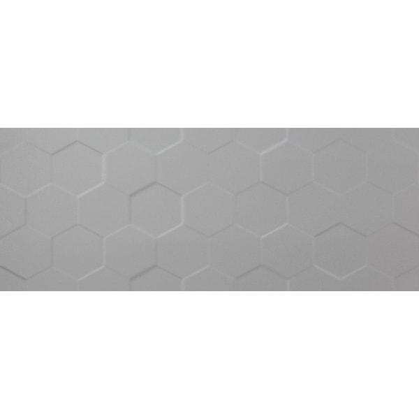 Płytka ścienna Tubądzin Elementary Grey Hex STR 29,8x74,8cm
