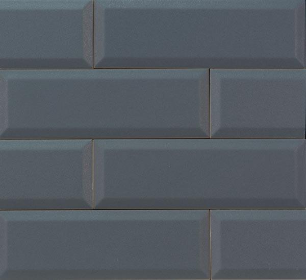 Płytka ścienna Tubądzin Elementary Graphite Bar 23,7x7,8cm