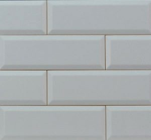 Płytka ścienna Tubądzin Elementary Grey Bar 23,7x7,8cm