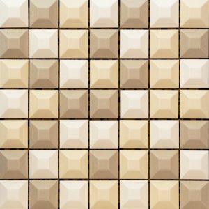 Mozaika ścienna Tubądzin Elementary Cream 31,4x31,4cm