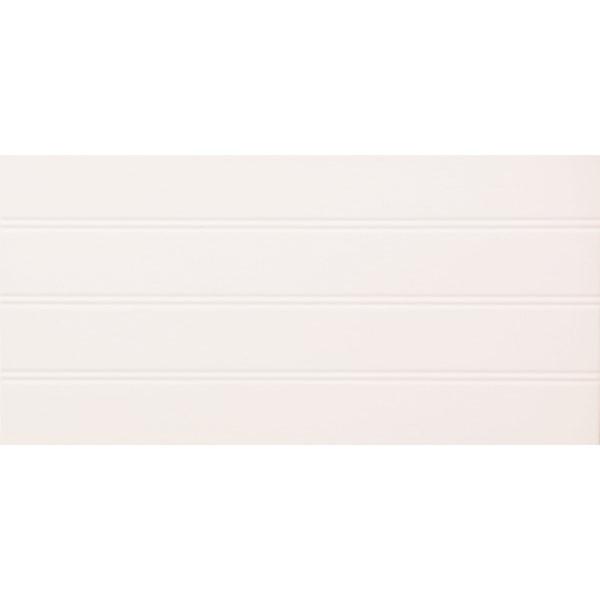 Płytka ścienna Domino Grafite white STR 44,8x22,3cm