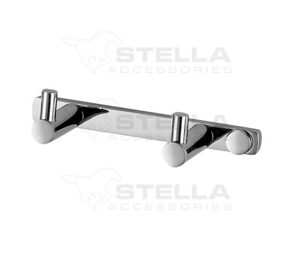 Listwa- 2 haczyki Stella 18.012
