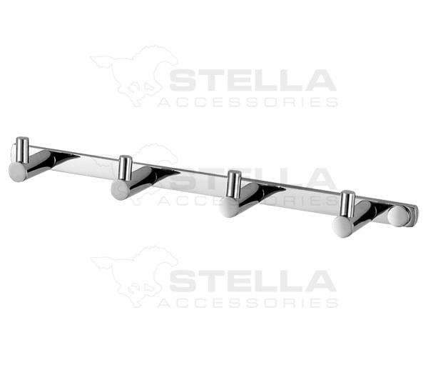 Listwa- 4 haczyki Stella 18.014
