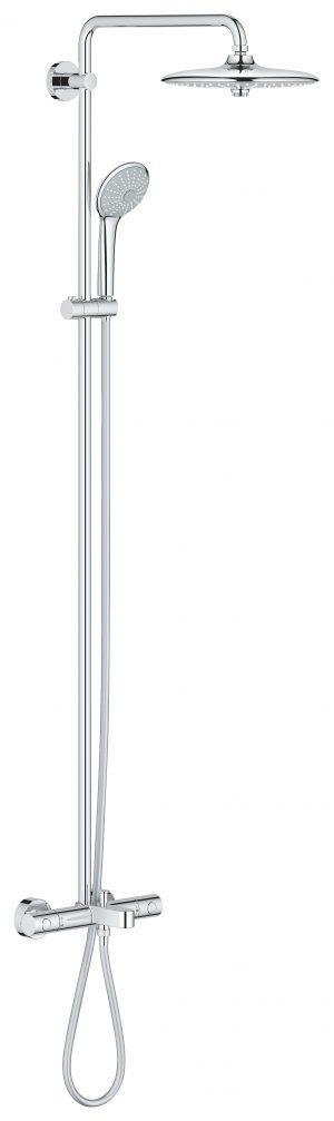 GROHE Euphoria System - system natryskowy z wannową bateria termostatyczną