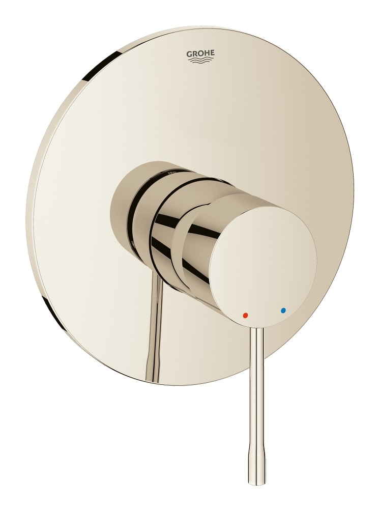 Grohe Essence -  jednouchwytowa bateria prysznicowa Polished Nickel Kolor 19286BE1