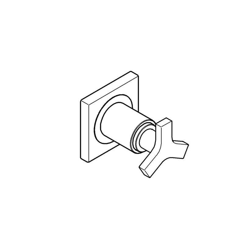 Zdjęcie GROHE Allure – element zewnętrzny zaworu podtynkowego 19334000