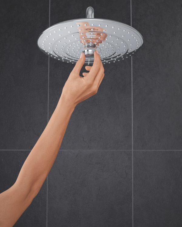 Zdjęcie GROHE Euphoria 260 – deszczownica, 3 strumienie, z ramieniem prysznicowym 26458000