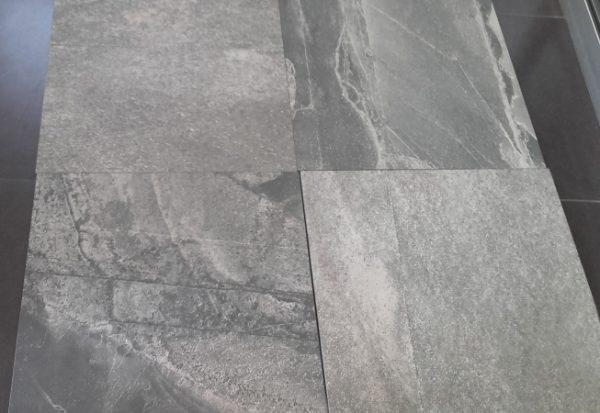Zdjęcie Płytka podłogowa Italgraniti Stone Mix ardesia black 60×60