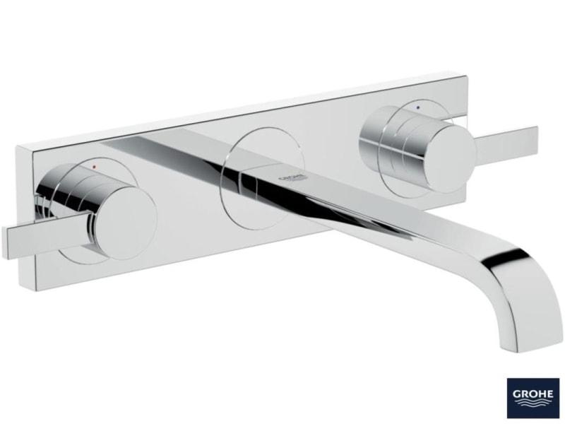 GROHE Allure - 3-otworowa bateria umywalkowa do montażu podtynkowego 20193000