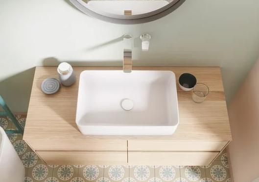 Zdjęcie Korek umywalkowy Villeroy & Boch Weiss Alpin ceramiczny 68080001