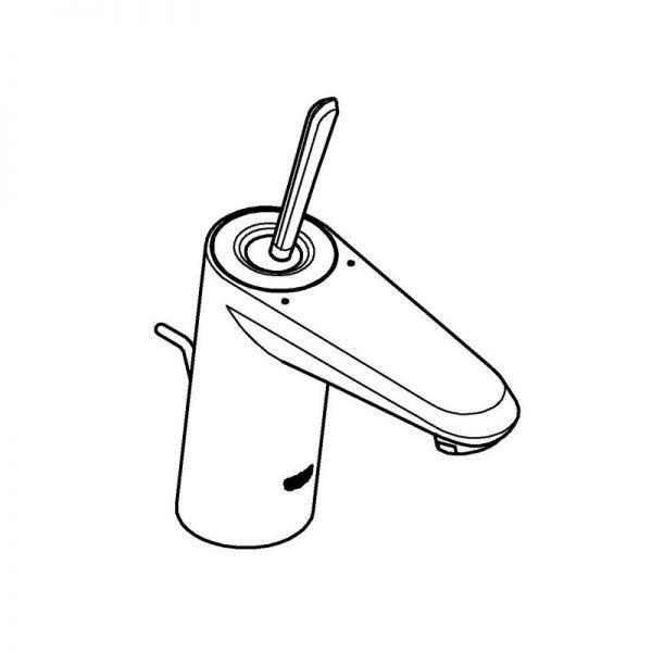 Zdjęcie Bateria umywalkowa Grohe Eurodisc Joystick biała 23425LS0