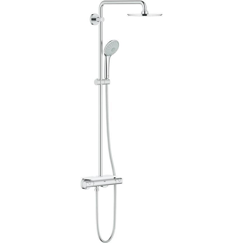 System prysznicowy z termostatem do montażu ściennego Grohe Euphoria XXL System 210 26363000 .