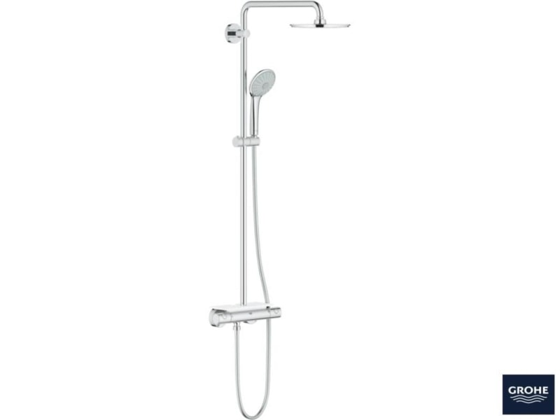Zdjęcie System prysznicowy z termostatem do montażu ściennego Grohe Euphoria XXL System 210 26363000 .