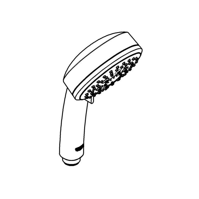 Zdjęcie GROHE New Tempesta Cosmopolitan 100 – prysznic ręczny, 4 strumienie chrom 27575002