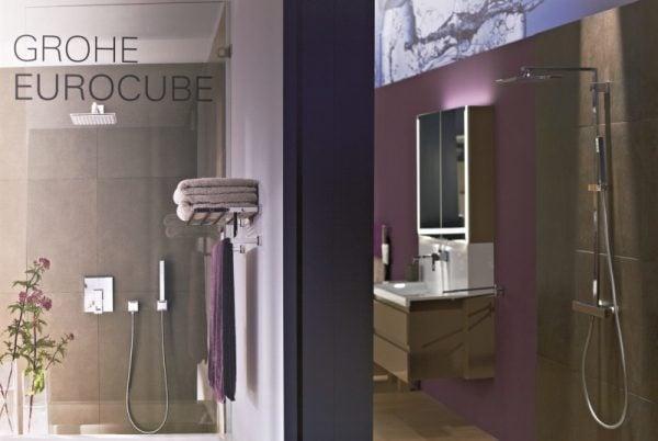 Zdjęcie GROHE Euphoria Cube Stick – zestaw prysznicowy chrom 27703000 .