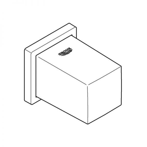 Zdjęcie Kolanko przyłączeniowe ścienne Grohe Euphoria Cube 27704000 .