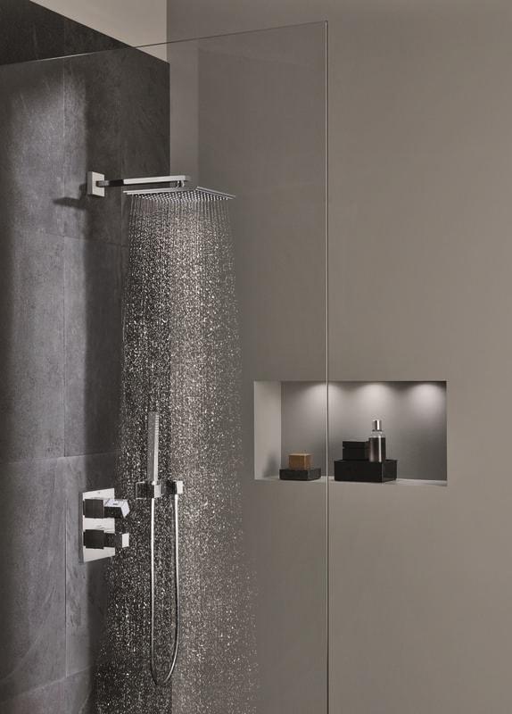 Zdjęcie GROHE Euphoria Cube 150 – jednostrumieniowy prysznic górny 27705000