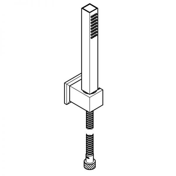 Zdjęcie Zestaw natryskowy Grohe Euphoria Cube + Stick 27889000