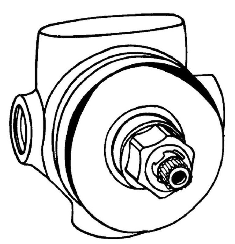 Zdjęcie GROHE – element podtynkowy przełącznika trójdrożnego 29706000