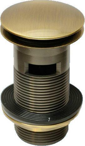 Korek umywalkowy Glasgow McAlpine CW60 Antyczny brąz CW60-AB
