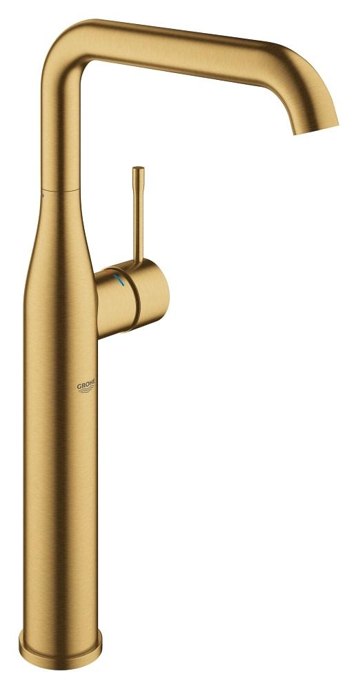 GROHE Essence New - jednouchwytowa bateria umywalkowa do umywalek wolnostojących Brushed Cool Sunrise Złoty 32901GN1