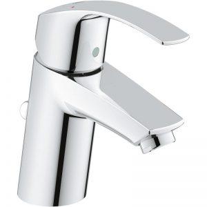 Bateria umywalkowa z korkiem Grohe Eurosmart S Chrom 33265002