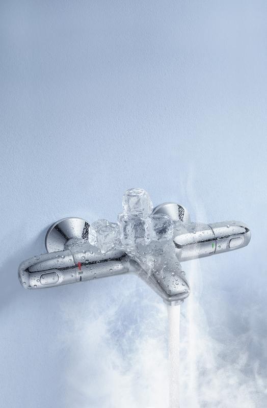 Zdjęcie Bateria wannowa z termostatem Grohe Grohtherm 1000 New Chrom 34155003 .