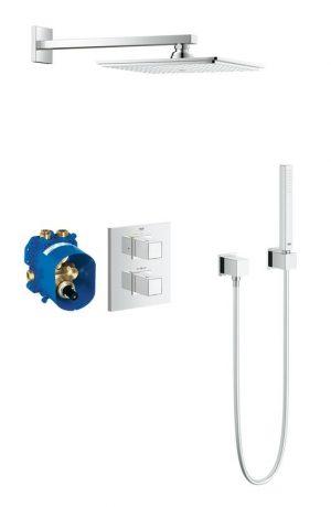 Zestaw prysznicowy podtynkowy Grohtherm Cube 34506000 ^