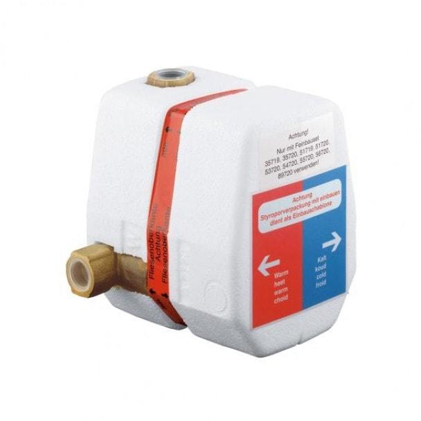 Termostat element podtynkowy do baterii z termostatem Kludi 35156