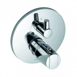 Podtynkowa bateria natryskowa z termostatem Kludi Objekta Chrom 358350538