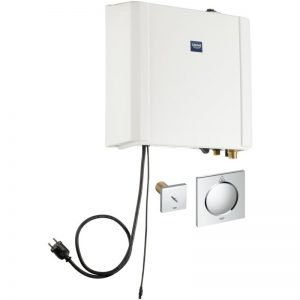 GROHE F-digital Deluxe - generator pary 2.2 kW z wyjściem pary i czujnikiem temperatury 36362000