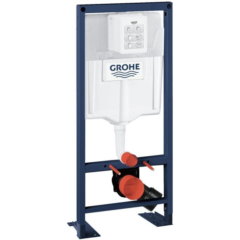 GROHE Rapid SL Stelaż - spłuczka do WC ściennego 38584001