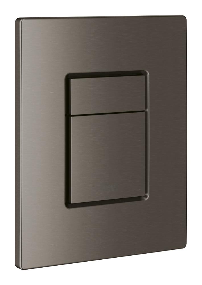 GROHE Skate Cosmopolitan - przycisk uruchamiający do spłuczki podtynkowej brushed hard graphite 38732AL0 .