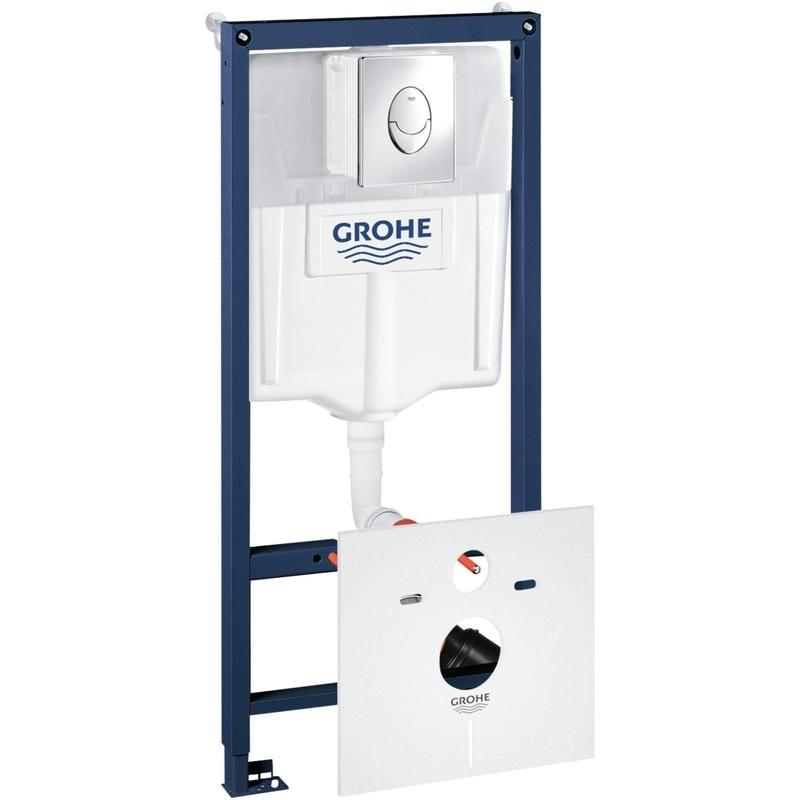 GROHE Rapid SL 4 in 1 - stelaż podtynkowy do montażu WC ściennego 38750001