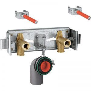 GROHE Rapid Pro - mocowanie do umywalko z armaturą sztorcową 39030000