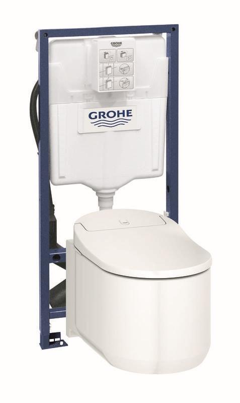 GROHE Sensia Arena Toaleta myjąca + Stelaż Grohe Rapid SL 39354SH1+39112001