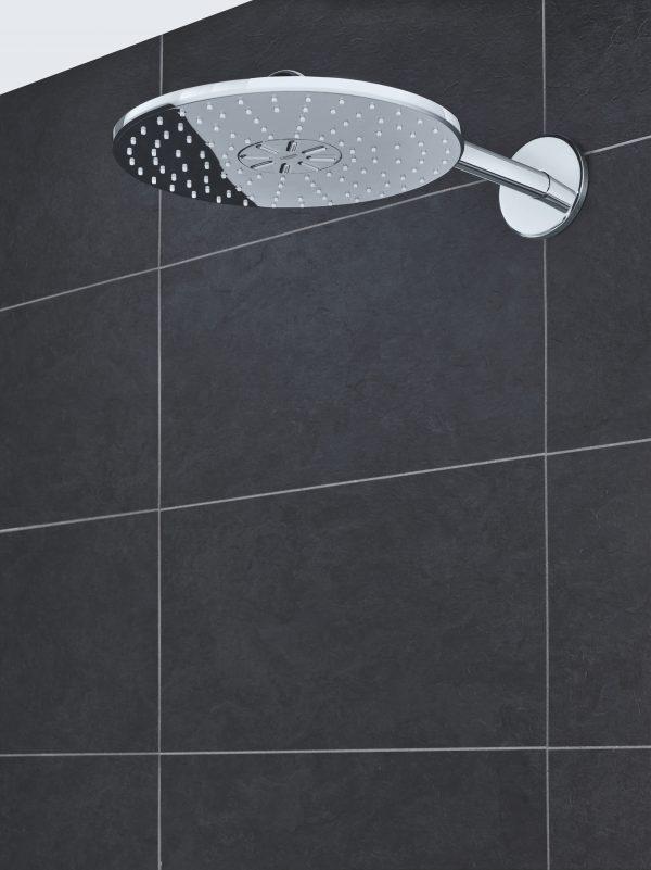 Zdjęcie GROHE Rainshower 310 SmartActive – deszczownica, 2 strumienie, z ramieniem prysznicowym 26475000