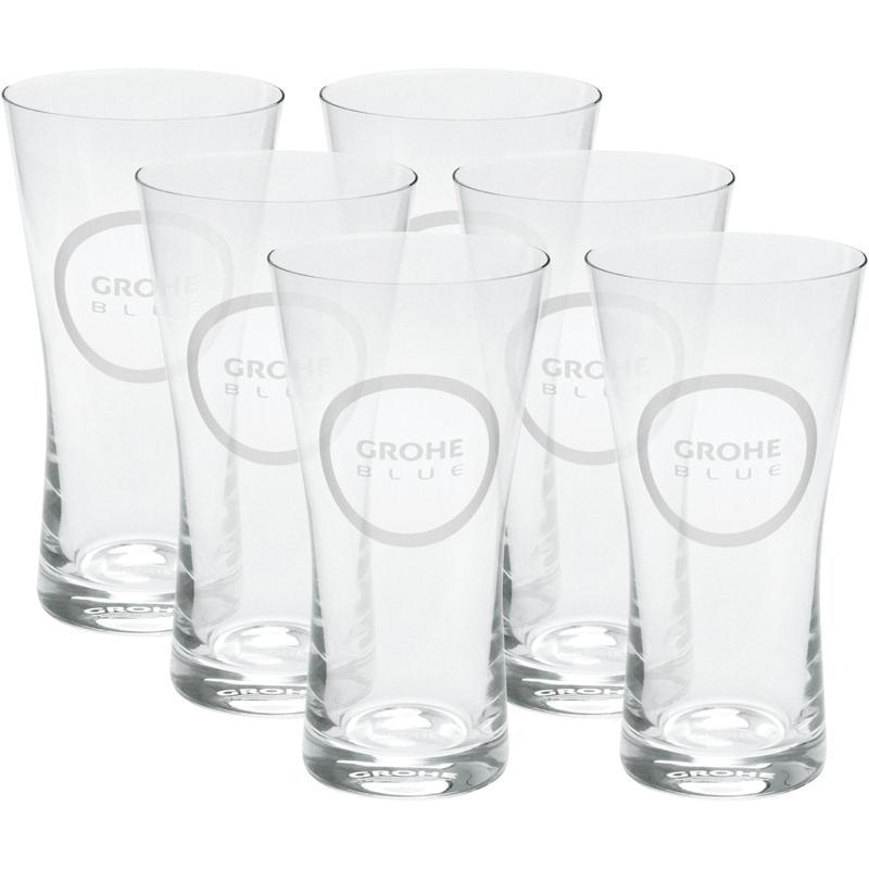 GROHE Blue - szklanki, 6 sztuk 40437000