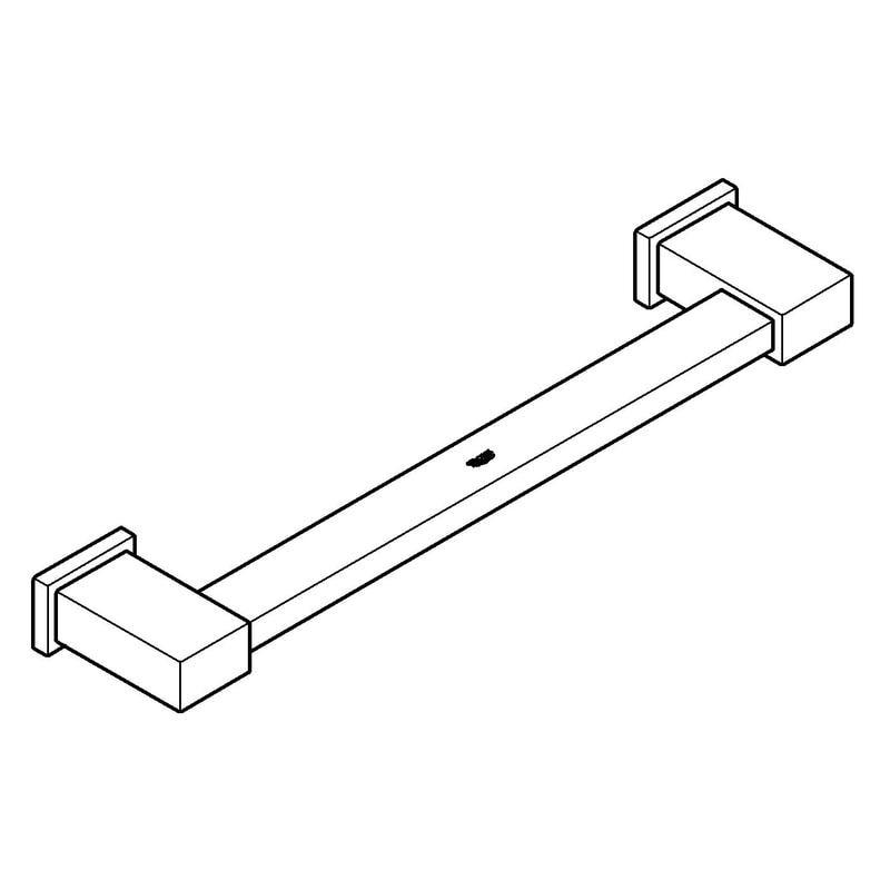 Zdjęcie Uchwyt wannowy Grohe Essentials Cube 40514001